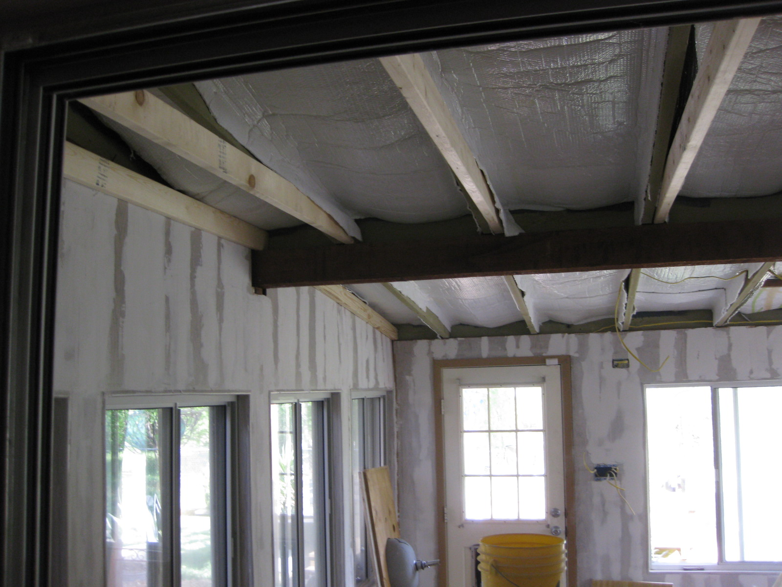 Dog Room - Drywall & Insulation
