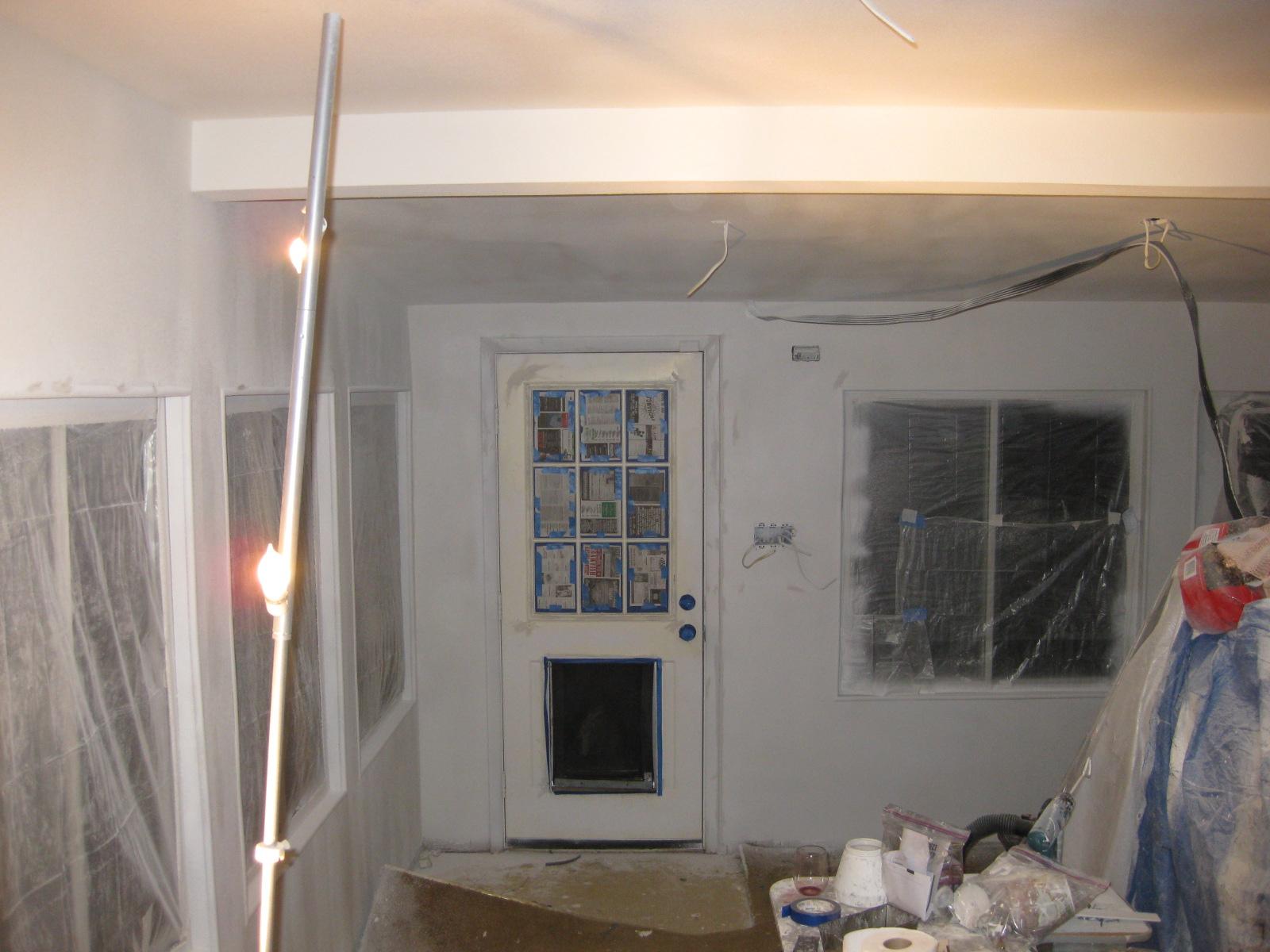 Dog Room - Drywall & Ceiling