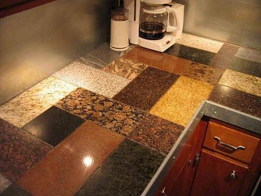 Granite Countertops – Tin Ceiling